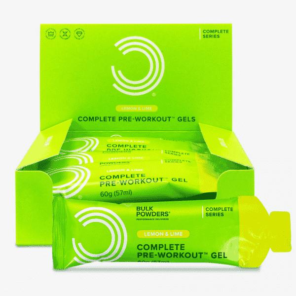 Complete pre-workout gels (12 stuks)