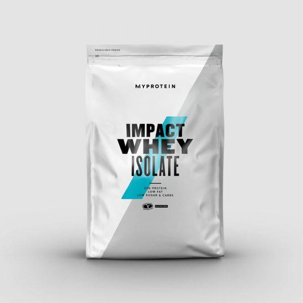 Impact Whey Isolate - 5kg - Banana