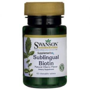 Sublingual Biotin 5000mcg