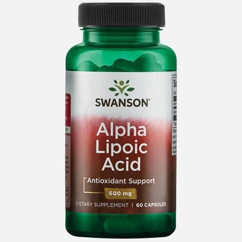 Ultra Alpha Lipoic Acid 600mg