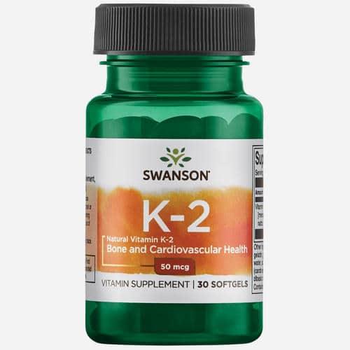 Ultra Natural Vitamine K2 (Menaquinone-7 from Natto) 50mcg