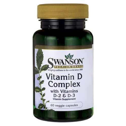 Vitamin D Complex with Vitamins D-2 & D-3