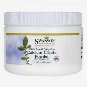 100% Pure and Dairy-Free Calcium Citrate Powder