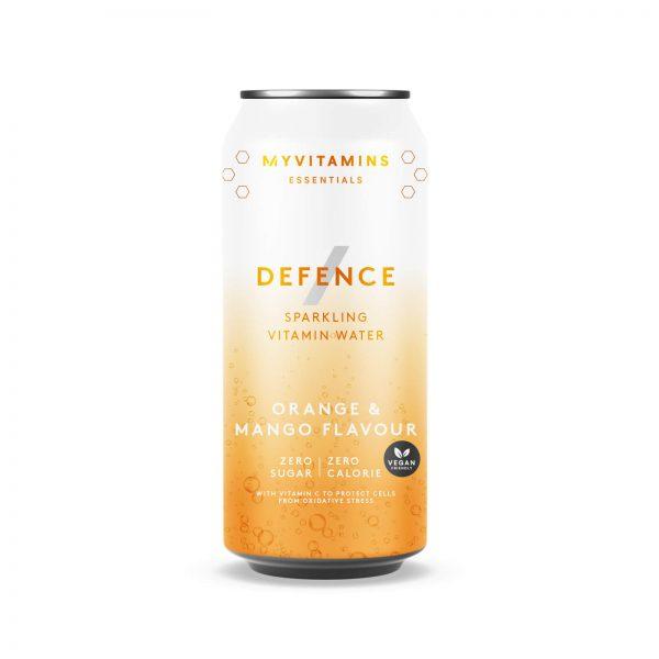 Defence Sparkling Vitamin Water (Sample) - 330ml - Orange and Mango