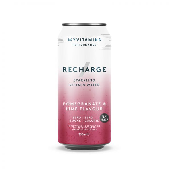 Recharge Sparkling Vitamin Water (Sample) - 330ml - Pomegranate & Lime