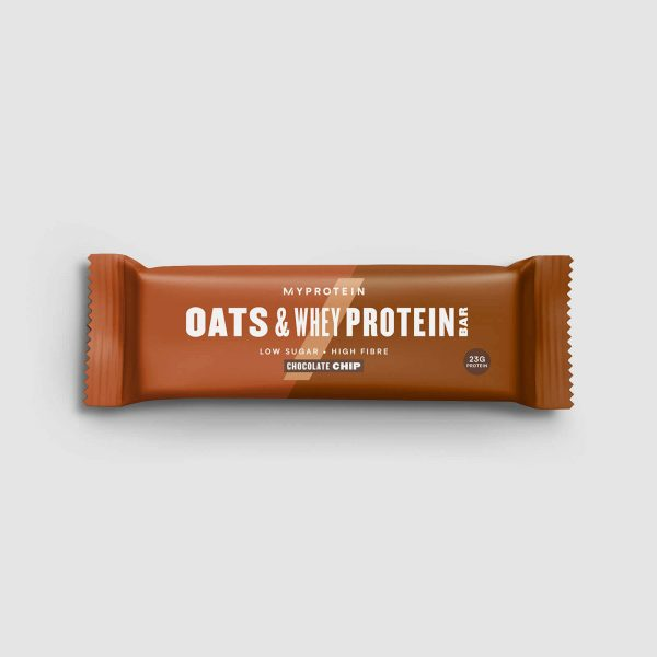 Oats & Whey Protein Bar (Tester) - Chocolate Chip