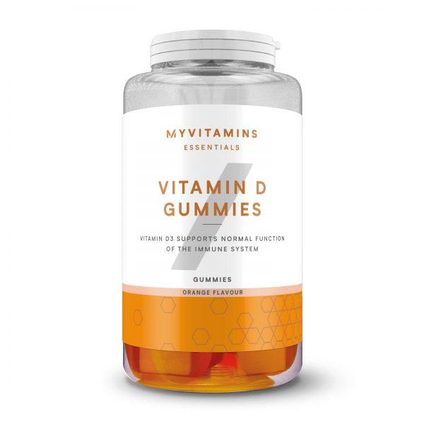 Vitamine D-gummies - 60softgels - Orange