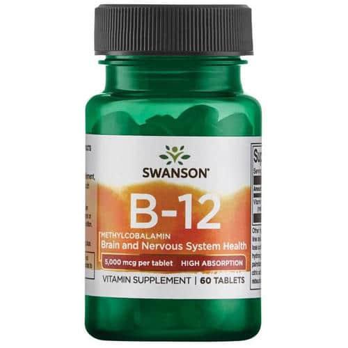 Ultra Vitamin B-12 High Absorption Sublingual 5mg
