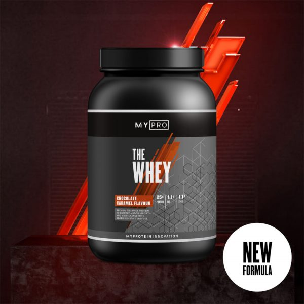 Myprotein THE Whey V2 - 30servings - Chocolate Caramel