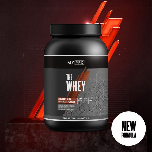 Myprotein THE Whey V2 - 30servings - Decadent Milk Chocolate