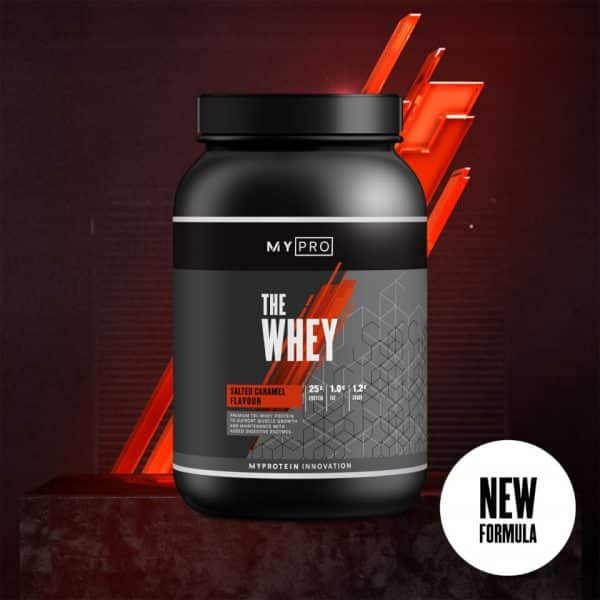 Myprotein THE Whey V2 - 30servings - New - Salted Caramel