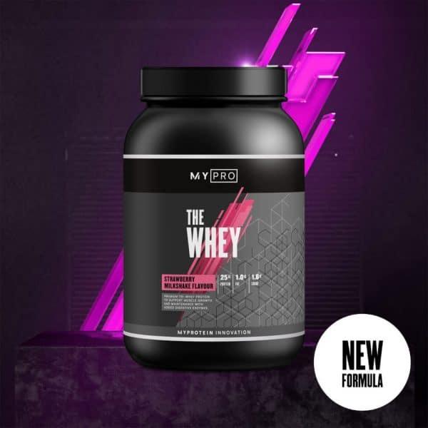Myprotein THE Whey V2 - 30servings - Strawberry