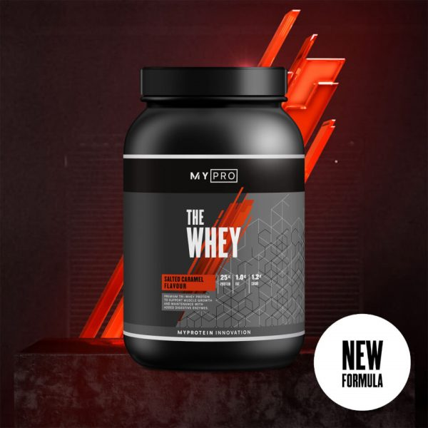Myprotein THE Whey V2 - 60servings - New - Salted Caramel