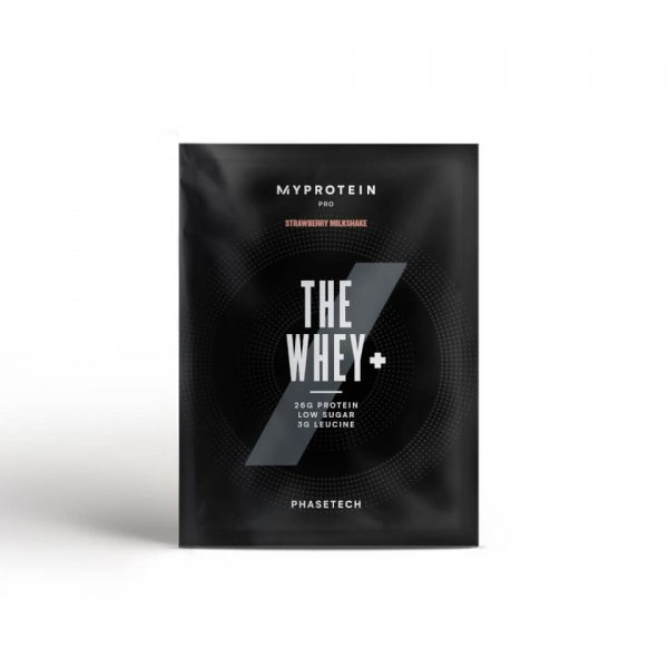 THE Whey+ (Sample) - Strawberry Milkshake