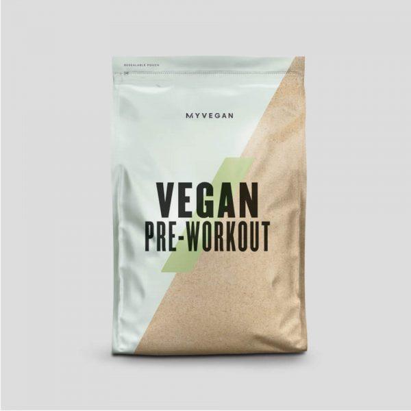 Vegan Pre-Workout Poeder - 250g - Sour Apple