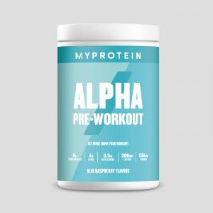 Alpha Pre-Workout - 600g - Blue Raspberry