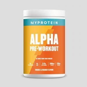 Alpha Pre-Workout - 600g - Orange & Mango