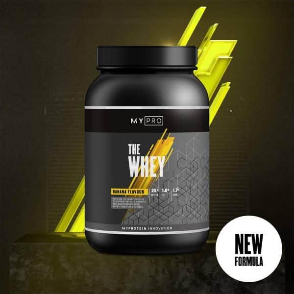 Myprotein THE Whey V2 - 30servings - Banana