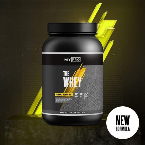 Myprotein THE Whey V2 - 60servings - Banana