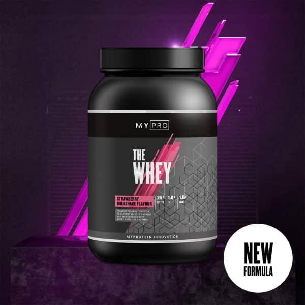 Myprotein THE Whey V2 - 60servings - Strawberry
