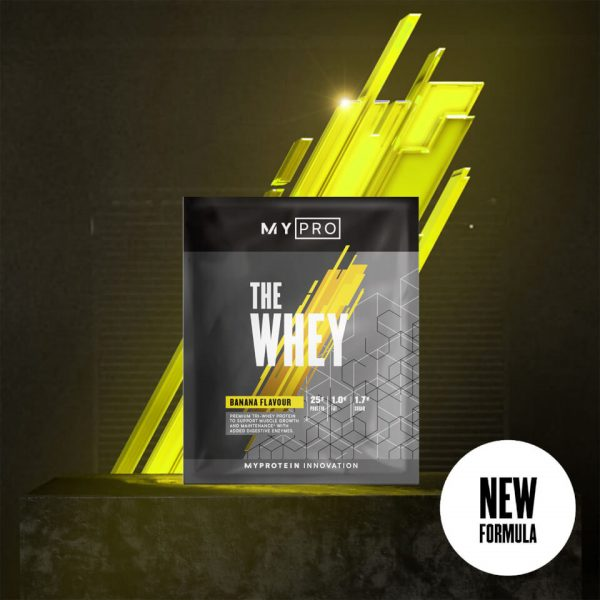 Myprotein THE Whey V2 (Sample) - 1servings - Banana