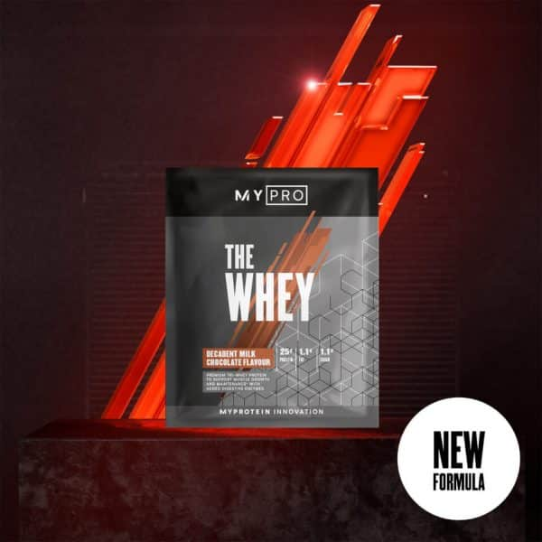 Myprotein THE Whey V2 (Sample) - 1servings - Chocolate