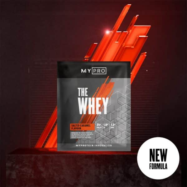 Myprotein THE Whey V2 (Sample) - 1servings - New - Salted Caramel